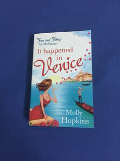 English Novel : It happenend in Venice