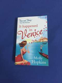English Novel : It happenend in Venice