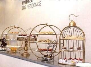 Gold Dessert stand