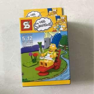 simpson series lego inspired