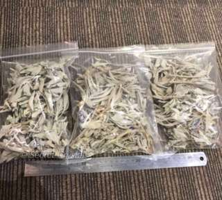 White sage leaves pack