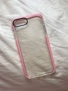 Clear shock proof case for iPhone 7+