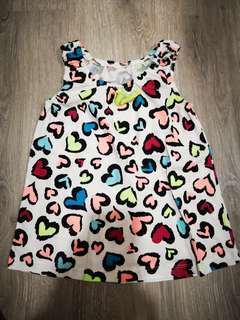 Baby Girl Colorful Sleeveless Dress