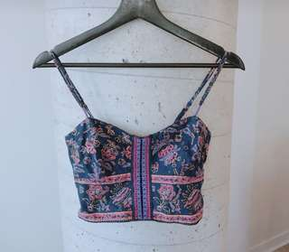 American Eagle Crop Tank Size Small