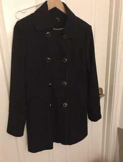 TOKITO CITY double breasted longline/trench coat sz12