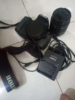 Dijual kamera canon DSLR Eos 650D