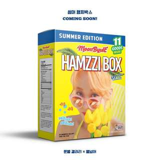 Mamamoo Moonbyul Hamzzi Box