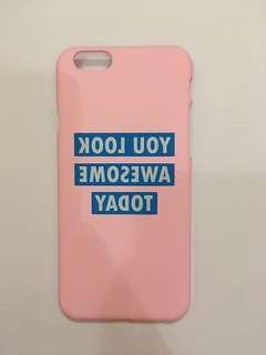 *NEW* HARDCASE iphone 6 pink