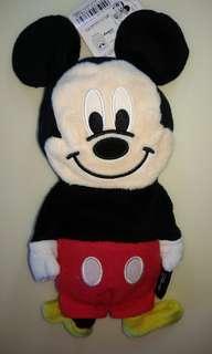 🚚 日版 迪士尼 米奇/米妮 變身包包 兩面可用