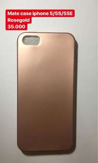 *NEW* mate case rosegold iphone 5  #maudecay
