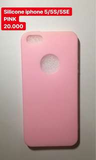 *NEW* silicone iphone 5 pink