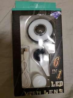 6 in 1 Multi LED Lens MX-601