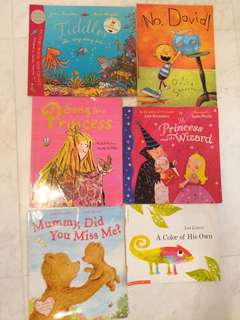 Preloved Popular Toddler/ Children storybooks