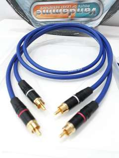 Vandamme Magical Blue RCA to RCA interconnect