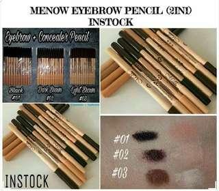Menow Eyebrow Pencil 2 in 1