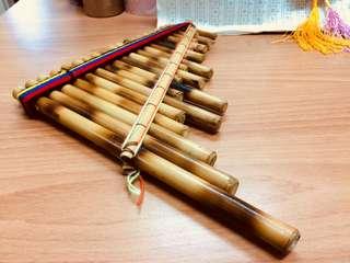 南美洲 波利維亞 高山竹 A調 合音排笛