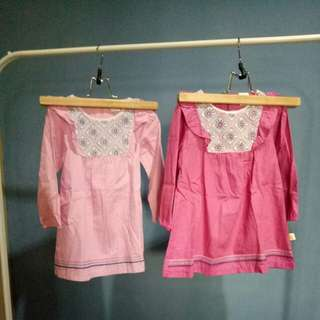 NEW Top/Dress pinky model koko