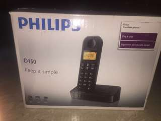 Philips Cordless Phone dect phone