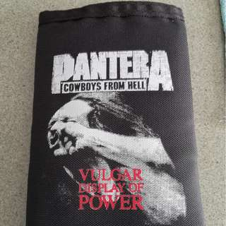 death metal cd - pantera wallet