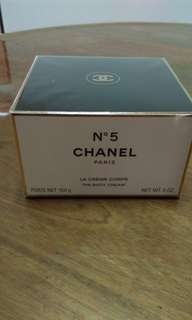 Chanel No 5 body cream 150g