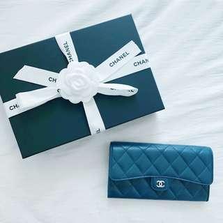 CHANEL Flap Long Wallet