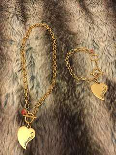 Guess matching Bracellet and Necklace