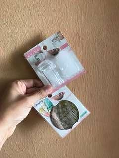 Nail stamper kit bought in Japan