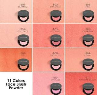 Ready Focallure Blush On (Coral)