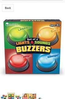 BNIB learning resource buzzers