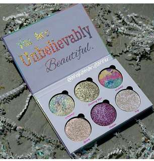 Love Luxe Beauty Fantasy You Are Unbelievably Eyeshadow Highlighter Palette
