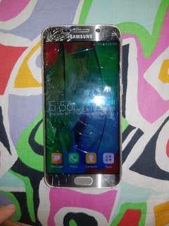 S6 EDGE. LCD LANG PO YUNG BASAG