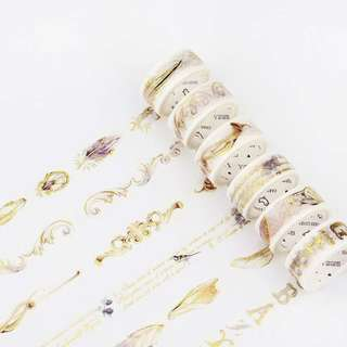 280- Gold Washi Tape