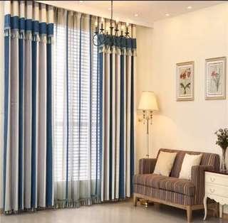 Mediterranean curtain