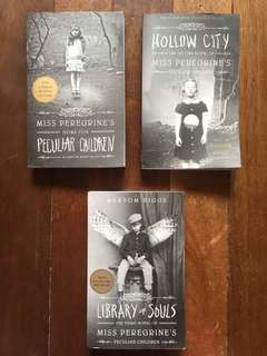 The Peculiar children trilogy