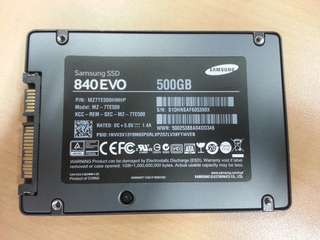 Samsung 840 EVO SSD 500GB