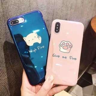 paw iphone 6/6p/7/7p/8/8p/X phone case