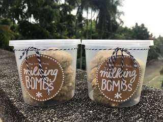 Lactation Cookies - milking bombs