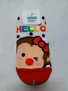 韓國襪子 立體耳朵人物中筒襪 韓國襪子 短襪 中筒襪 隱形襪 療癒佳 韓妞 穿搭