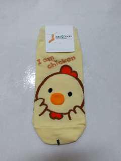 韓國襪子 小雞 立體耳朵人物中筒襪 韓國襪子 短襪 中筒襪 隱形襪 療癒佳 韓妞 穿搭