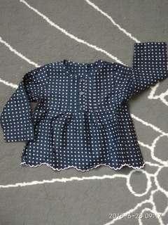 Marks & Spencer baby girl blouse top