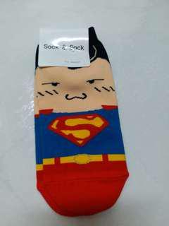 韓國襪子 可愛超人 立體耳朵人物中筒襪 韓國襪子 短襪 中筒襪 隱形襪 療癒佳 韓妞 穿搭