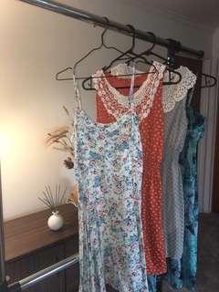 Bulk dresses! (Size 8/S)