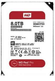 WD Red Pro 8TB - 3.5-Inch SATA III 7200rpm 128MB Cache NAS Internal Hard Drive