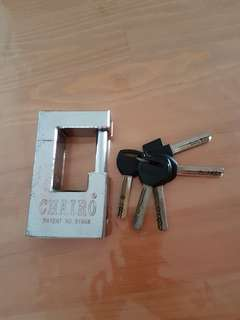 Chairo Door Lock with keys