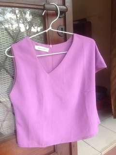 Cutes purple top