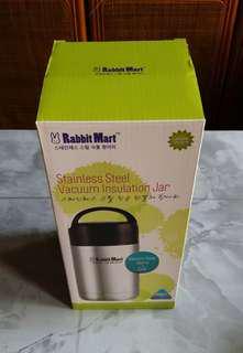 Stainless Steel Vacuum Insulation Jar 1200ML ( Self Collect @ Blk 113, Jur. East St.13, 600113)