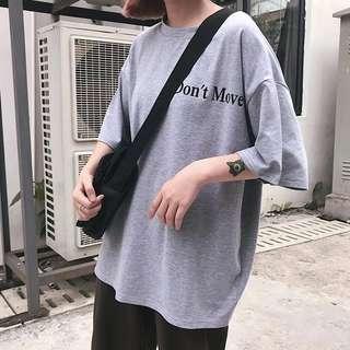 Grey t shirt top