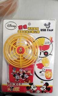 Disney便㩦兩用風扇