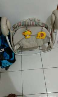 Portable swing, ayunan bayi, ayunan otomatis