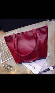 🚚 ❗️3 for $10❗️BNIB Red Tote Bag